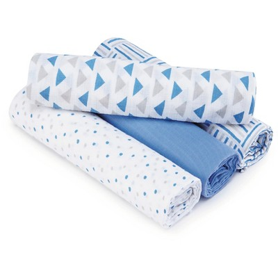 Aden® by Aden + Anais® Swaddle - 4pk - Shapes