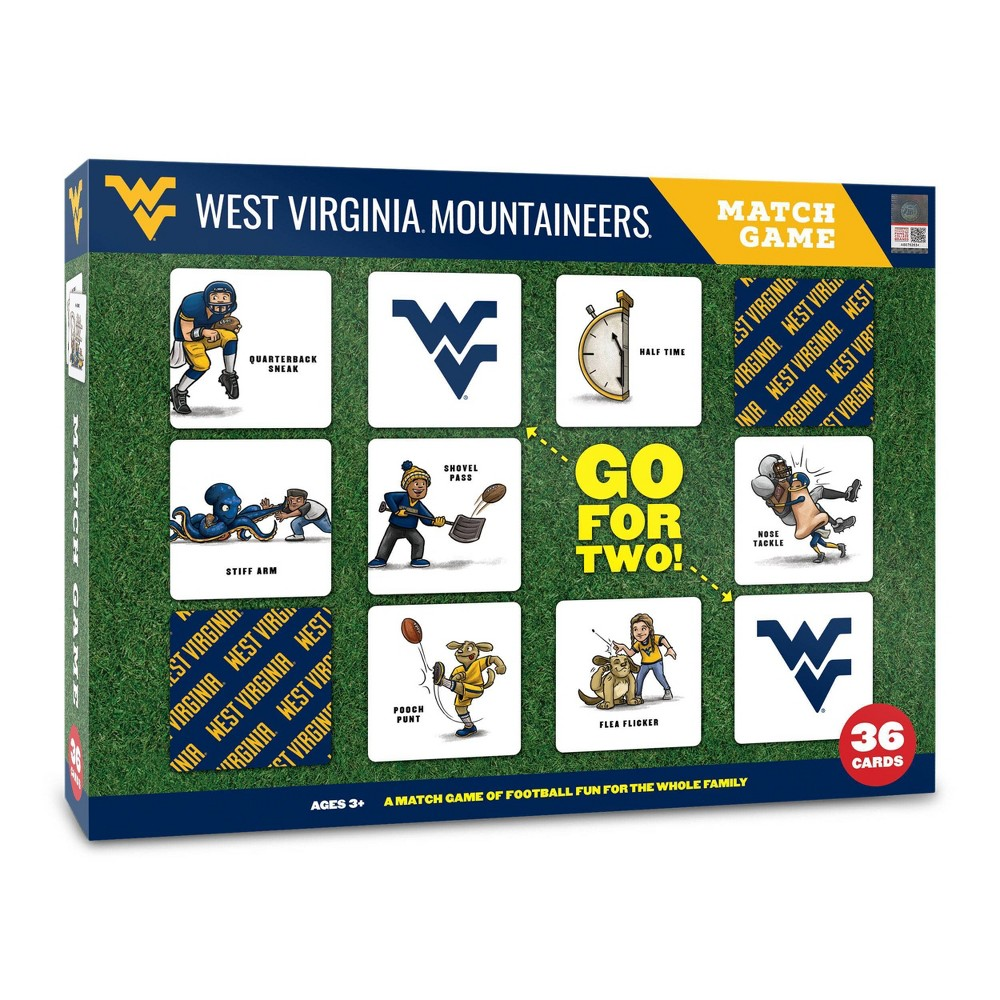 Ncaa West Virginia Mountaineers Football Match Game