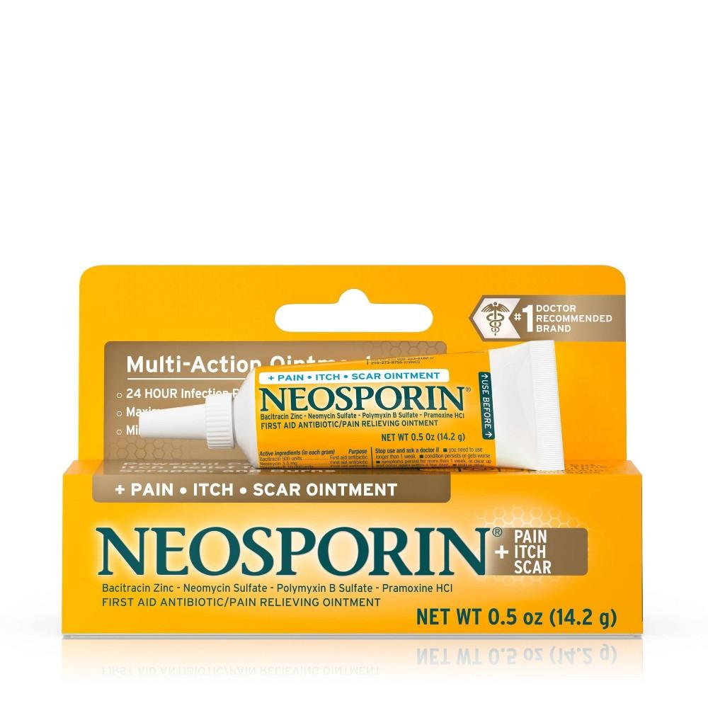 UPC 312547238083 - Neosporin First Aid Antibiotic and Pain ...