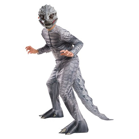 Jurassic World Kids' Indominus Rex Costume Silver - image 1 of 1