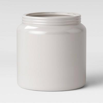 9  Stoneware Planter White - Threshold™