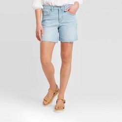 Women's High-Rise Boyfriend Jean Shorts - Universal Thread™