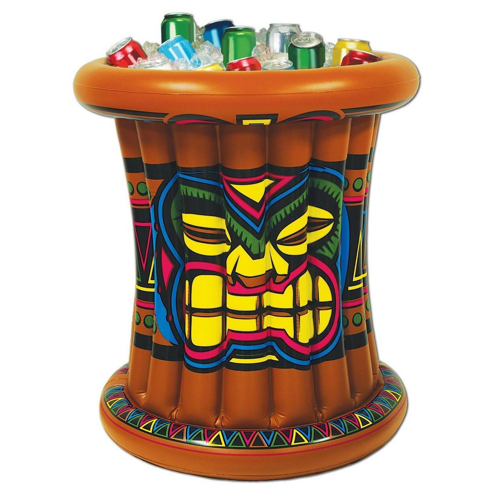Image of Inflatable Tiki Cooler, coolers