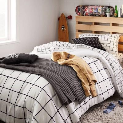 Alarm Check Bedding Collection - Room Essentials™