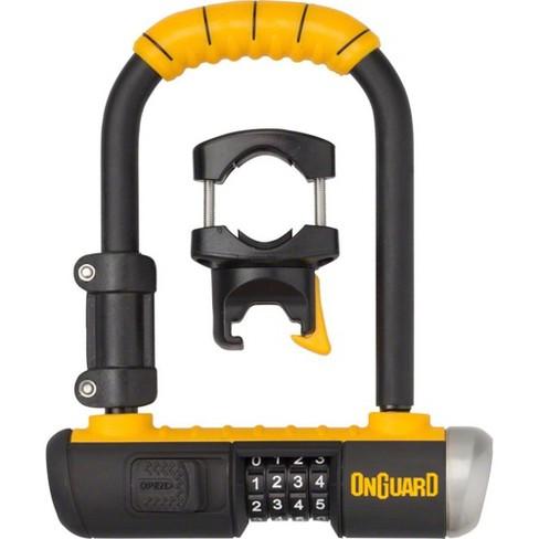 OnGuard Combo Mini U-Lock - 3.5 x 5.5 Combination Black/Yellow - image 1 of 1