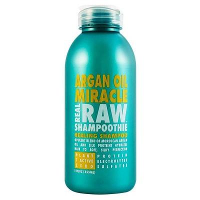 Real Raw Shampoothie Argan Oil Miracle Healing Shampoo - 12 fl oz