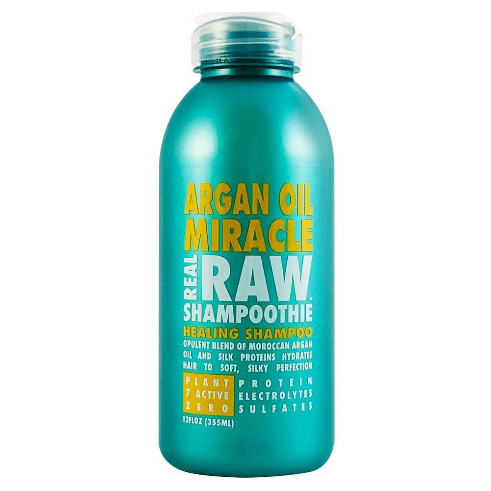 Image of Real Raw Shampoothie Argan Oil Miracle Healing Shampoo - 12 fl oz