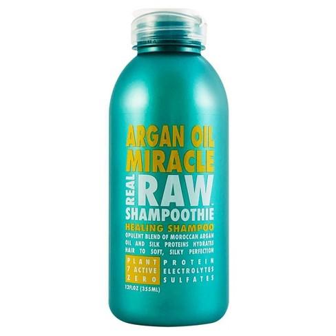 Real Raw Shampoothie Argan Oil Miracle Healing Shampoo - 12 fl oz - image 1 of 3