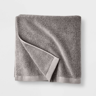 Organic Bath Towel Gray- Casaluna™