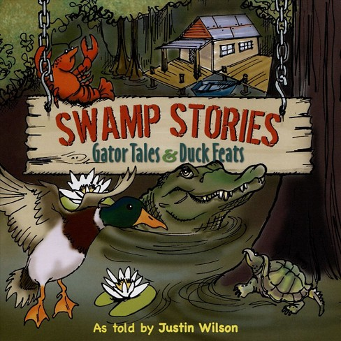 Justin wilson - Swamp stories:Gator tales & duck feat (CD) - image 1 of 1