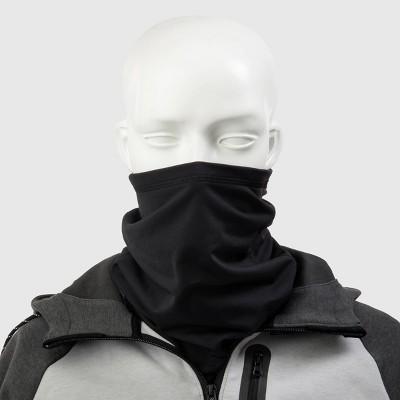 Isotoner Men's Gaiter Scarves - Black One Size