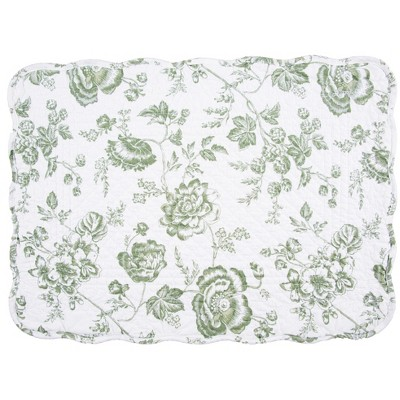 C F Home Kennedy Cotton Quilted Rectangular Reversible 13 X 19 Placemat Set Of 6 Target
