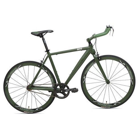 "Rapid Cycle Evolve Bullhorn Road Bike 19"" - Green - image 1 of 1"