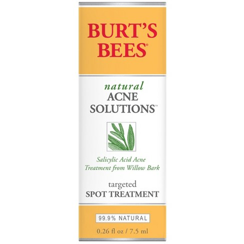 Unscented Burt's Bees Natural Acne Solutions Targeted Spot Treatment -  0 26oz
