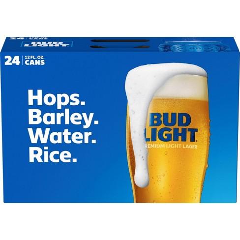 Bud Light Beer - 24pk/12 fl oz Cans - image 1 of 1