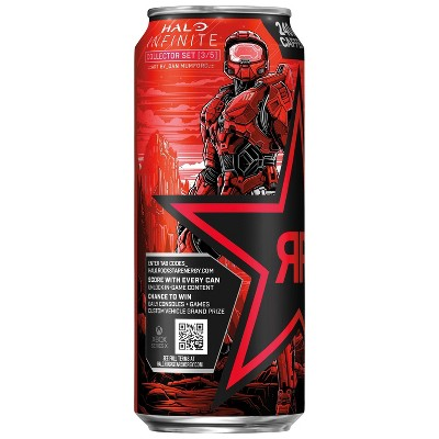 Rockstar Punched Fruit Punch Energy Drink - 16 fl oz can
