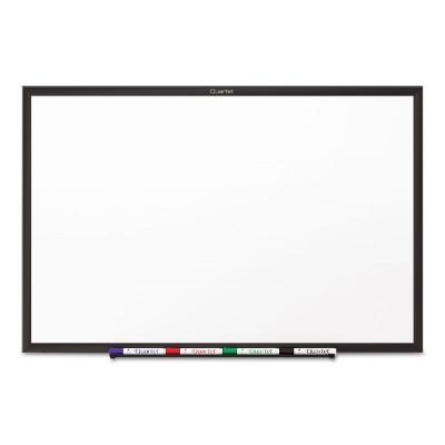 Quartet Classic Melamine Dry Erase Board 60 x 36 White Surface Black Frame S535B
