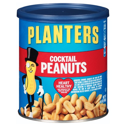 Planters Heart Healthy tail Peanuts - 16oz : Target on planters walnuts, planters nut bar, planters mixed nuts, planters guy, planters nut man, planters potato chips, planters pecans, planters brittle nut medley, planters sunflower seeds, planters logo, planters holiday pack, planters nutmobile, planters peanutbutter, planters crackers, planters honey roasted, planters sunflower kernels, planters almonds, planters cashews, planters candy, planters holiday collection,