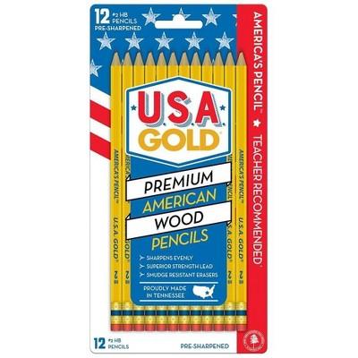 Write Dudes #2 Wooden Pencils, 2mm, 12ct