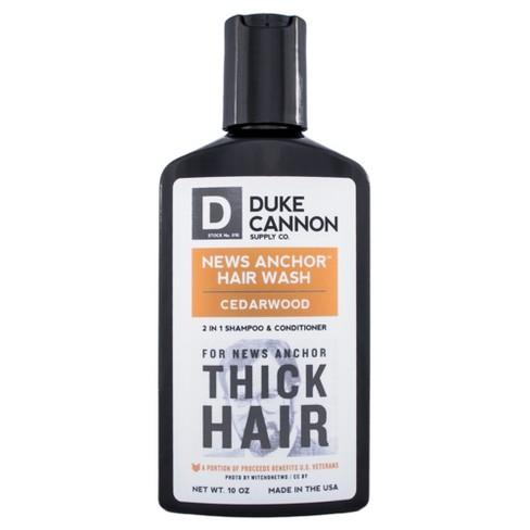 Duke Cannon News Anchor 2-in-1 Hair Wash Cedarwood - 10oz - image 1 of 3