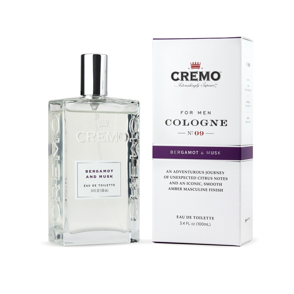 Image of Cremo Bergamot & Musk Spray Cologne - 3.4 fl oz