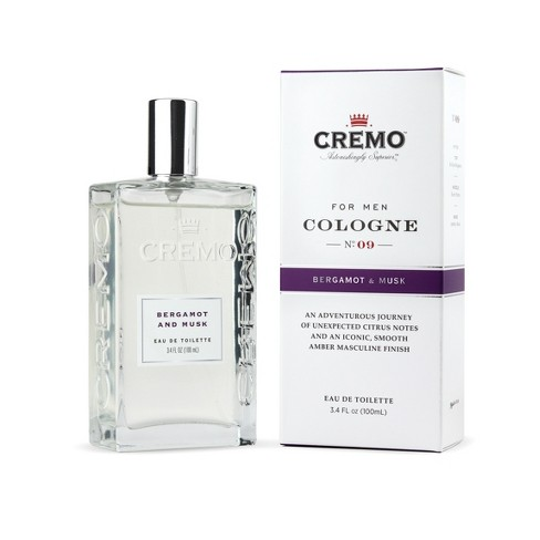 Cremo Bergamot & Musk Spray Cologne - 3.4 fl oz - image 1 of 4