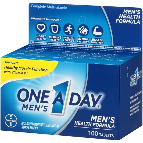 One A Day For Men Multivitamin Dietary Supplement Tablets