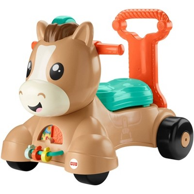 Fisher-Price Walk Bounce & Ride Pony