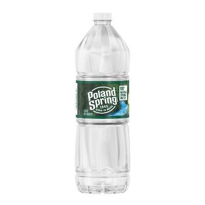 Poland Spring Brand 100% Natural Spring Water - 33.8 fl oz Bottle