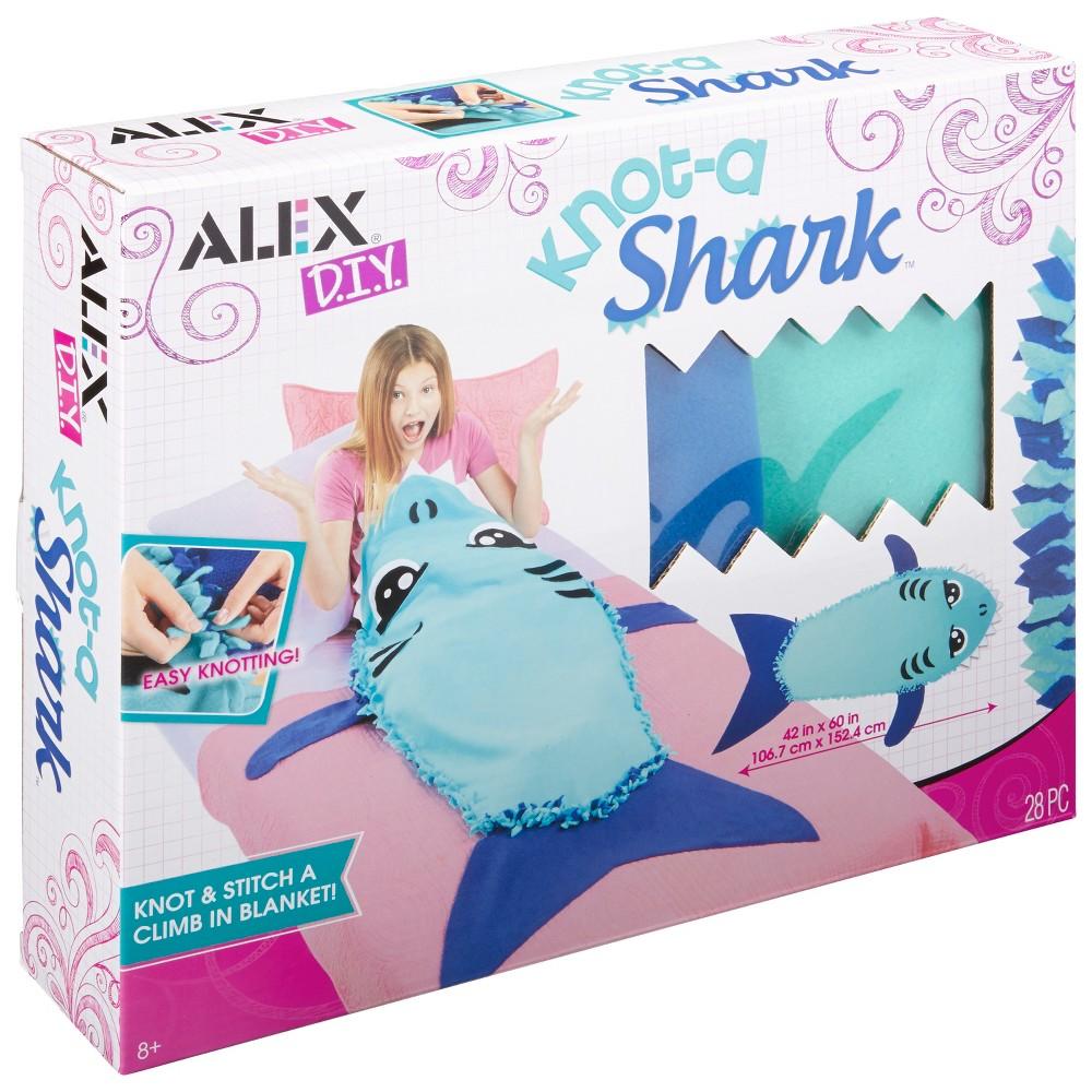 Image of ALEX DIY Knot-A Shark, craft activity kits