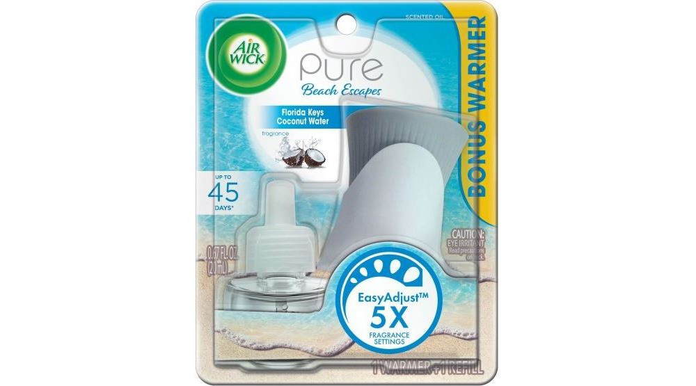 Image of Air Wick Pure Beach Escapes Florida Keys Coconut Water Scented Oil Starter Kit - 1ct, White