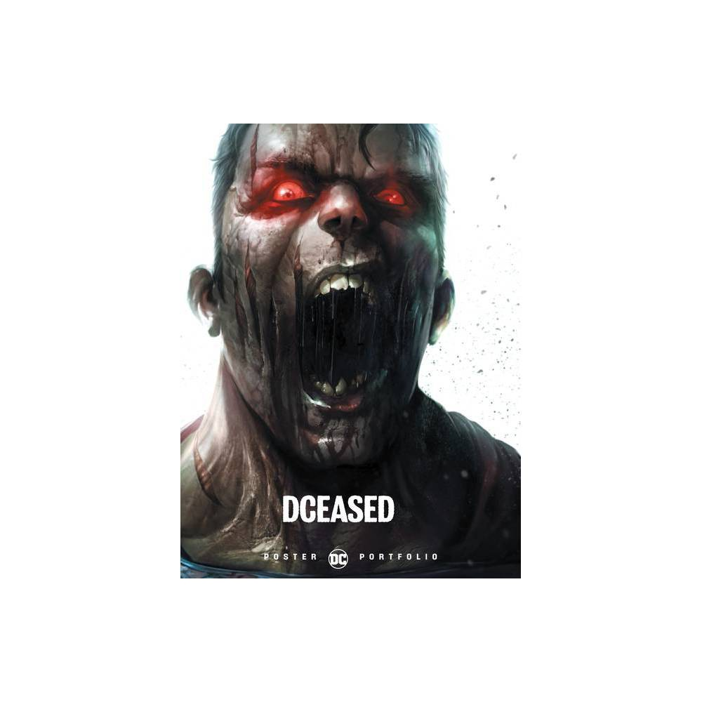 Dc Poster Portfolio Dceased By Various Paperback