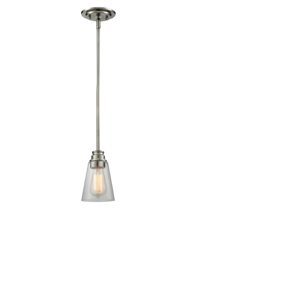 Mini Pendant with Clear Glass Ceiling Lights - Z-Lite