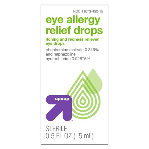 Eye Allergy Drops >> Eye Allergy Relief Drops 0 5oz Up Up