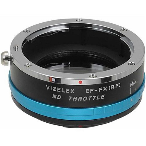 Fotodiox Vizelex ND Throttle Mount Adapter with Built-In Variable ND Filter for Canon EOS EF Lens to Fujifilm X-Series Mirrorless Camera - image 1 of 4