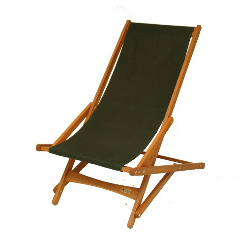 Hardwoof Folding Patio Accent Chair Green - Byer of Maine - image 1 of 4