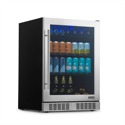 NewAir 224 Can Beverage Cooler with Color Changing LED Lights