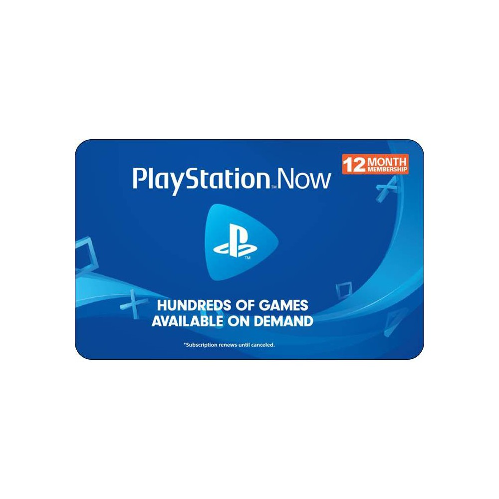 PlayStation Now 12 Month Membership Gift Card (Digital) was $59.99 now $41.99 (30.0% off)