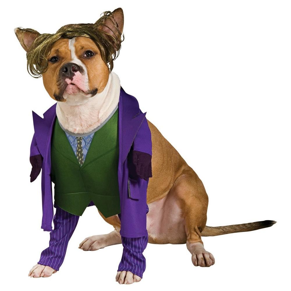 Joker Dog Costume - Small, Multicolored