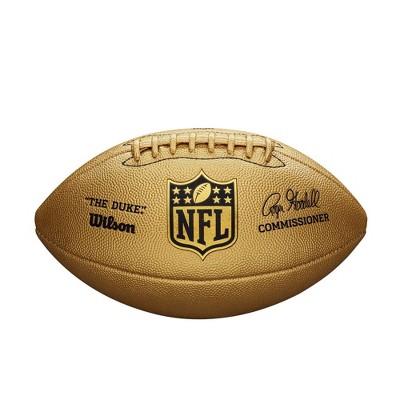 Wilson NFL Duke Gold Metallic Football