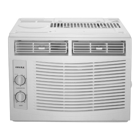 Amana 5,000 BTU 115V Window-Mounted Air Conditioner with Mechanical Controls - image 1 of 4
