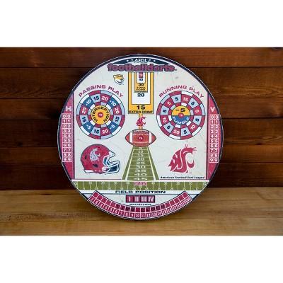 NCAA Washington State Cougars Official Football Dartboard