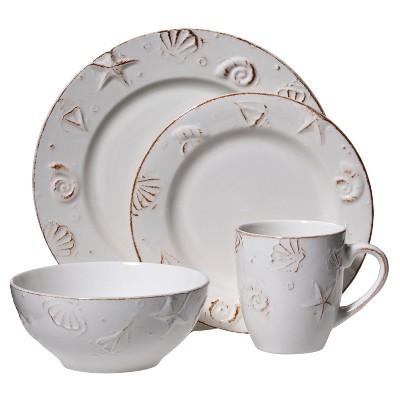 C.C.A. International Hampton 16pc Dinnerware Set
