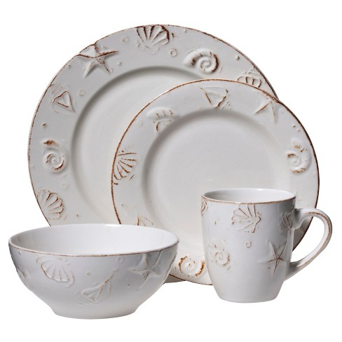 C.C.A. International Hampton 16pc Dinnerware Set - image 1 of 1
