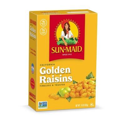 Sun-Maid Dried Fruit Golden Raisins - 15oz