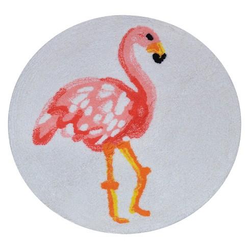 Flamingo Bath Rug - Pillowfort™ - image 1 of 1