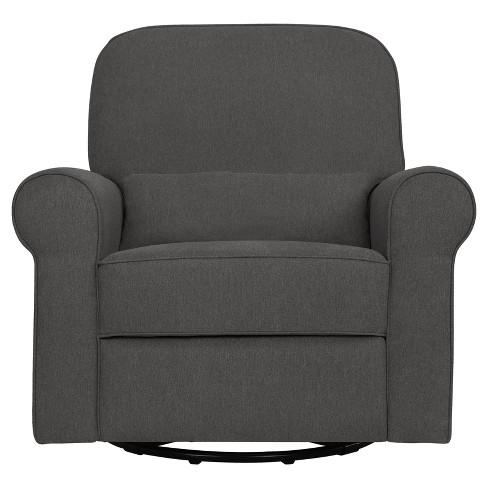 Fantastic Davinci Ruby Recliner And Glider Dark Gray Machost Co Dining Chair Design Ideas Machostcouk