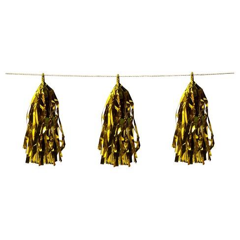 Gold Tassel Garland - Spritz™ - image 1 of 2