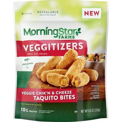 Morningstar Farms Vegan Frozen Taquito Bites - 8oz