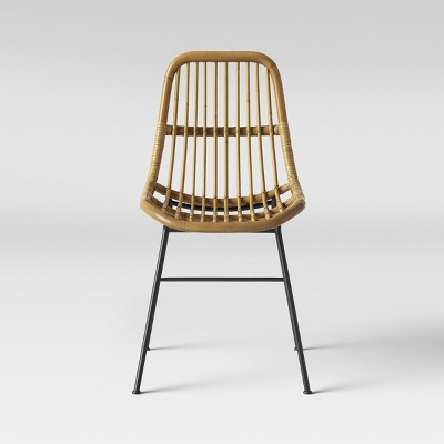 Linnet Rattan Dining Chair with Metal Legs - Opalhouse™